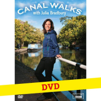 Julia Bradbury's Canal Walks DVD (unsigned)